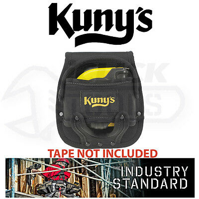 KUNYS HM1218 Frog Large Black 5m/8m Fabric Tape Measure Belt Holder