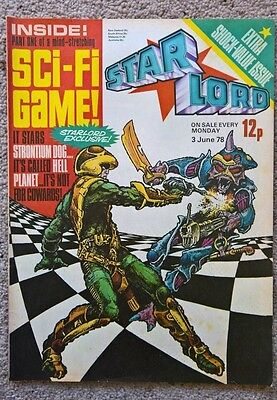 Starlord comic Issue 4 - Dated 03/06/1978 (2000AD)