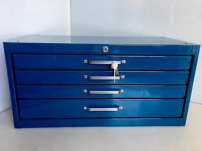 HUOT MASTER DRILL Steel 4-Drawer Cabinet CABINET #80603  Part #13602
