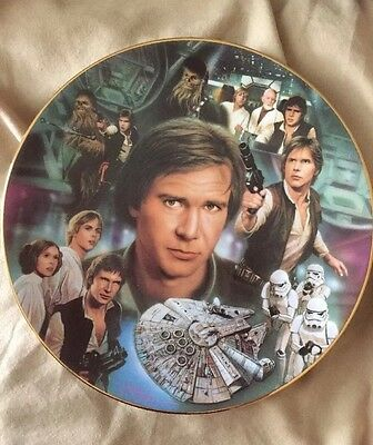 The Hamilton Collection Plate - Han Solo (Star Wars Portrait Collection)