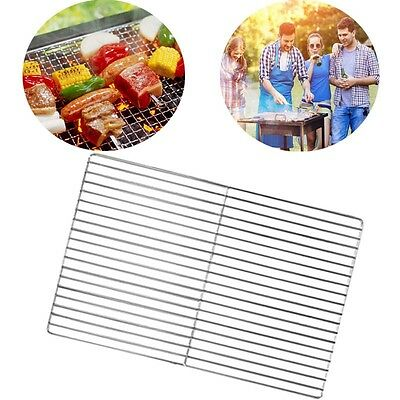 Brick BBQ Replacement Cooking Grill 3.6mm Stainless Steel 45cm x 30cm