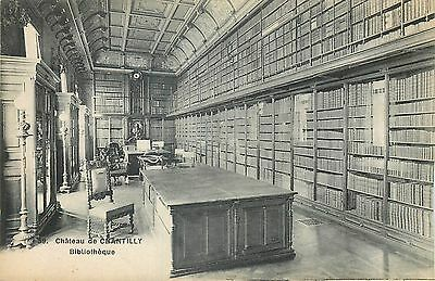 60 Chantilly Chateau Bibliotheque 13519