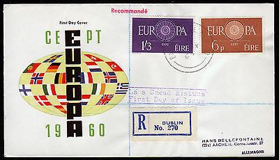 Irland 146-47 R-FDC, CEPT 1960