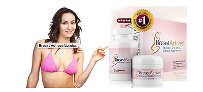 Breast Actives Breast Enhancement System -1 month supply New In Box - UK  Seller