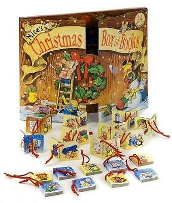 NEW Mice's Christmas Box of Books, Hanging Decoration Advent Calendar 2017 GIFT