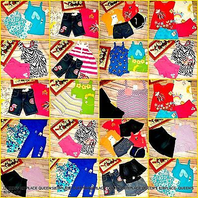 Nwt Girls Gymboree Gap 4 4T Summer Clothes Lot Sets Outfits shorts tops Tank New
