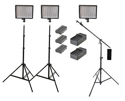 540w 3-Point Continuous LED Lighting Kit (portable lighting)