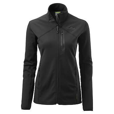 Kathmandu Escarpar Womens Softshell Slim Fit Warm Hiking Fleece Jacket v2 Black