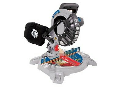 """King Canada Tools 8320SC 8-1/4"""" DUAL COMPOUND MITER SAW WITH LASER Scie à Onglet"""