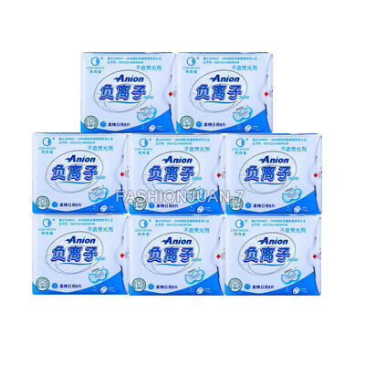 Day Use Sanitary Napkins 3packs=30PCS Anion No Fluorescent Agent Pads Day Liners