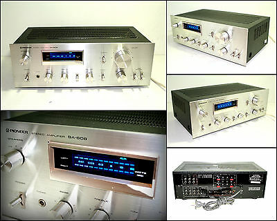 PIONEER SA-608 Stereo Integrated Amplifier (2 x 45W)