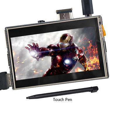 "US 3.5"" HDMI LCD Display Controller 1920x1080 Touch Screen for Raspberry Pi 2 3"
