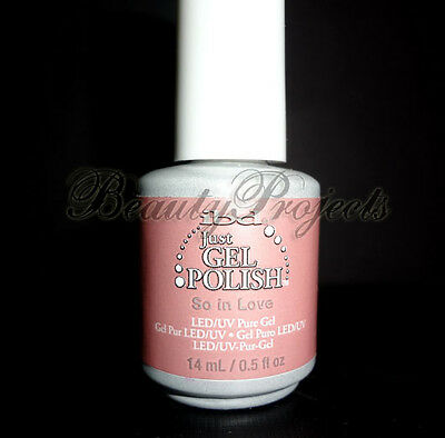 ibd Just Gel Polish So In Love #56514 UV/LED Pure Gel .5oz fast shipping NEW