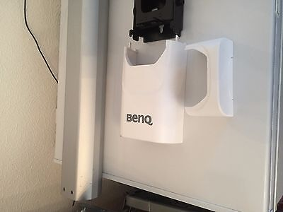 Extendible projector wall and mounting bracket for BenQ LW61ST and others.