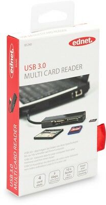 Ednet Card Reader All in One USB 3.0 Supports T-Flash