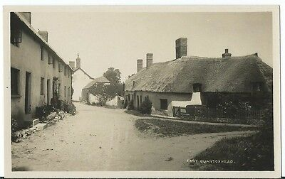 East Quantoxhead Nr Wiliton Bridgwater Village Thatched Houses RP by H H Hole