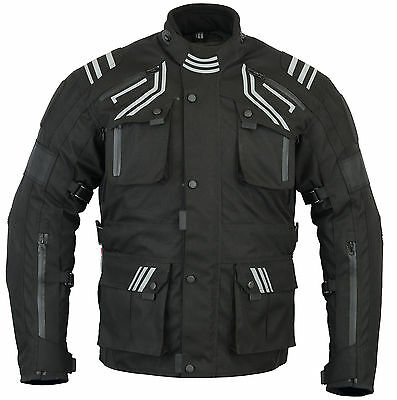 New Velocity Ce Armored Waterproof Textile Winter Textile Jacket
