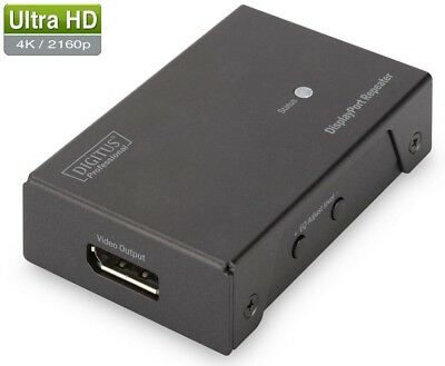 Digitus DS-52900 DP DisplayPort Repeater bis zu 20m (Full HD)/13 m (4K Aufl.)
