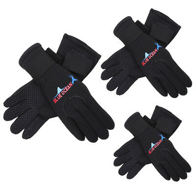 3mm Neoprene Swimming Scuba Surfing Diving Gloves Wetsuit Hands Protector