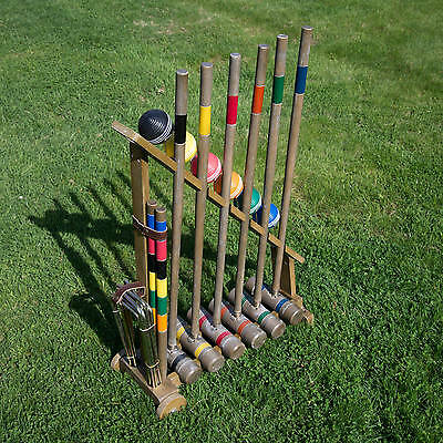 Franklin Sports Vintage Croquet Lawn Family Game