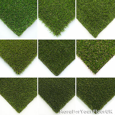 Sample Astro Artificial Garden Grass Realistic Natural Fake Turf & Lawn 2m & 4m