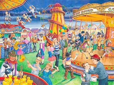 The House Of Puzzles - 250 BIG PIECE JIGSAW PUZZLE - Fairground Rides Big Pieces