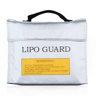 Fireproof RC Battery Lipo Battery Guard Safe Bag Charge Protection Storage