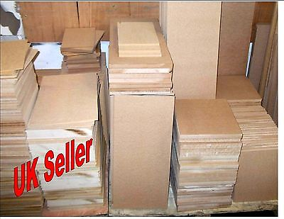 3 x 2mm Thick MDF. A3 420mm x 297mm Medium Density Fibreboard. Laser safe Crafts