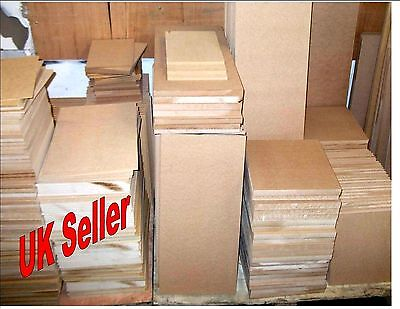 3 x 4mm Thick MDF. A5 210mm x 148mm Medium Density Fibreboard. Laser safe Crafts