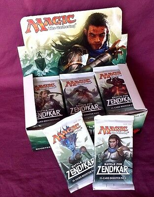 BATTLE FOR ZENDIKAR BOOSTER PACK Magic The Gathering 15-Cards New Sealed