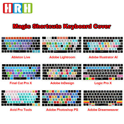 Function Hotkey Shortcuts Keyboard Skin Cover for Apple Magic Keyboard MLA22LL/A