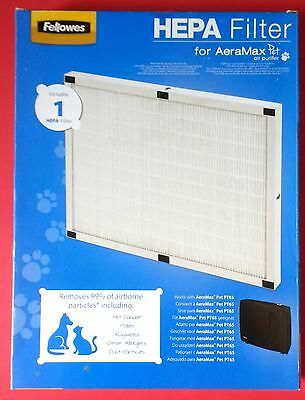 Fellowes Replacement HEPA FILTER for PT65 AeraMax Pet Air Purifier CRC 94065