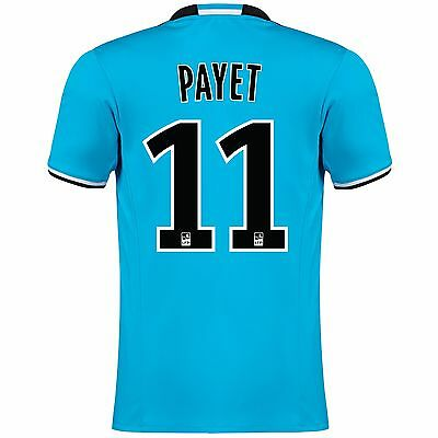 Adults Small Olympique de Marseille Third Shirt 2016/17 Payet 11 MA3