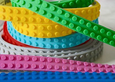 LEGO Compatible Block Strip / Tape 1M Toy Block UK Seller FREE P&P LEGO COLOURS