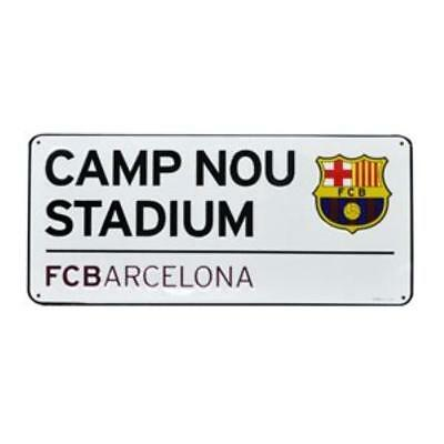 FC Barcelona Camp Nou Street Sign Football Gift