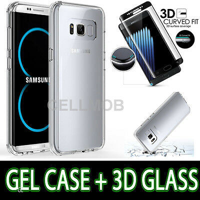 Ultra thin Slim Hard Case Full Protective Cover For Samsung Galaxy S8 S8+ Note 8