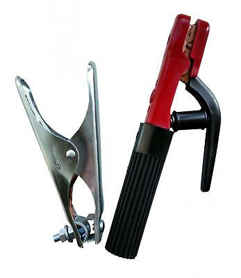 ARC MMA Welding Electrode Rod Holder and Earth Clamp 200 Amp Kit