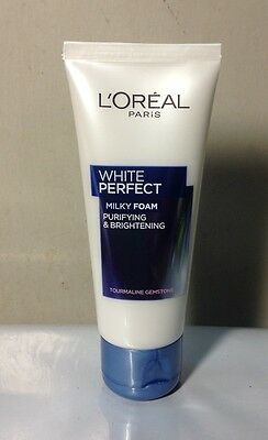 50ml L'OREAL White Perfect Milky Foam Purifying & Brightening Face Wash