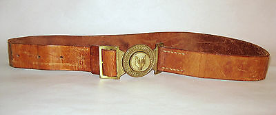 Vintage cub scout belt of The Swiss Guide and Scout Movement