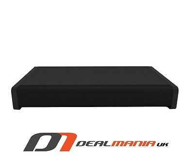 Goodmans 4.2 Channel Soundbar Speaker Base for TV  Subwoofer  All in One