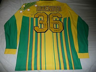 Match Worn Australia Cricket Shirt  Michael Divenuto Super 8's