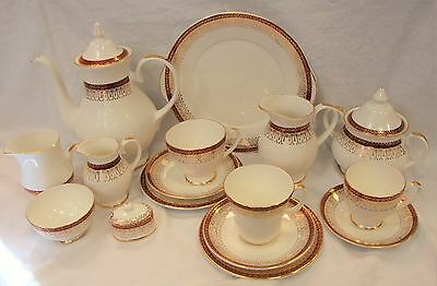 Royal Grafton MAJESTIC Rich Red & Gilt Tea Wares - Lots to choose From