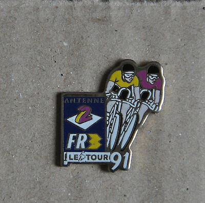 Pin's - cyclisme Tour de France 91 - France 3 Antenne 2