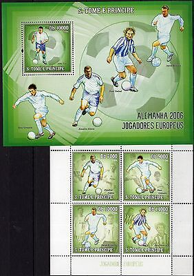 St.Tome 2006 - Sport/Football/Soccer/Alemanha 2006  M/S+S/S  MNH** - (BS)