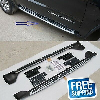Side Step Running Board iboard Nerf Bar (fit:JEEP Grand Cherokee 2011-2017)
