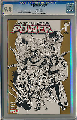 CGC 9.8 Ultimate Power #1 Retailer Incentive Sketch Variant Land Cover