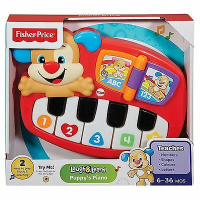 Fisher-Price Puppy's Piano Children's Fun Muscial Sounds Activity Learning Toy