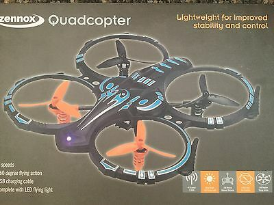 Zennox 2.4GHz Six Axis Quadcopter Drone with HD Camera