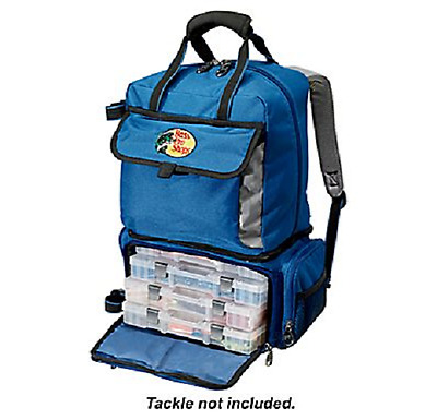 Bass Pro Shops® Qualifier 360 Fishing Camping Backpack or System Tackle Box New