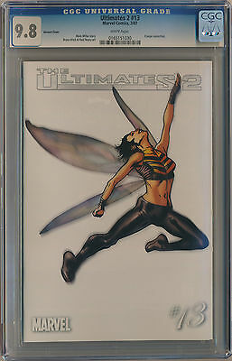 CGC 9.8 Ultimates 2 #13 Retailer Incentive Variant Hitch Cover - Wasp